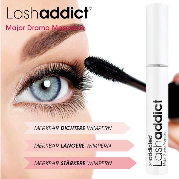 Lashaddict Major Drama Mascara Wirkung